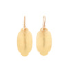 Gabriella Kiss 18k Medium Oval Scallop Earrings