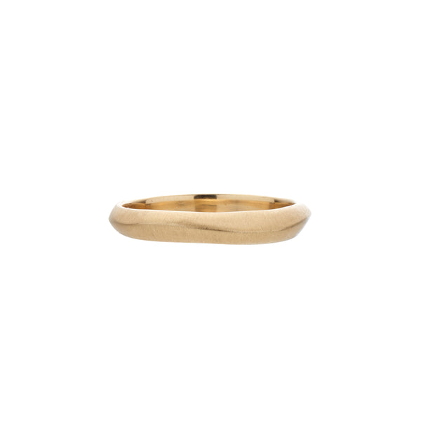 Rebecca Overmann Women's 14k Thin Knife Edge Band Ring