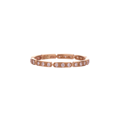 Gillian Conroy 14k Diamond Tara Band