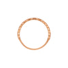Gillian Conroy 14k Harlow White Diamond Yellow Gold Band