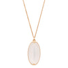 Gabriella Kiss 18k Long Oval Ceylon Moonstone Necklace