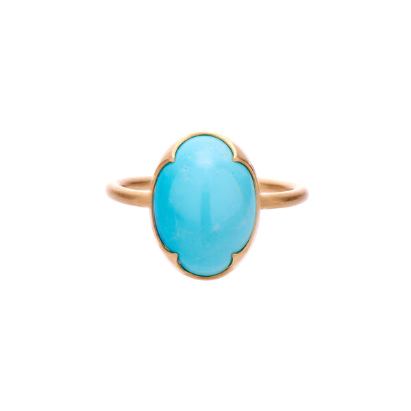 Gabriella Kiss 18k Persian Turquoise Ring