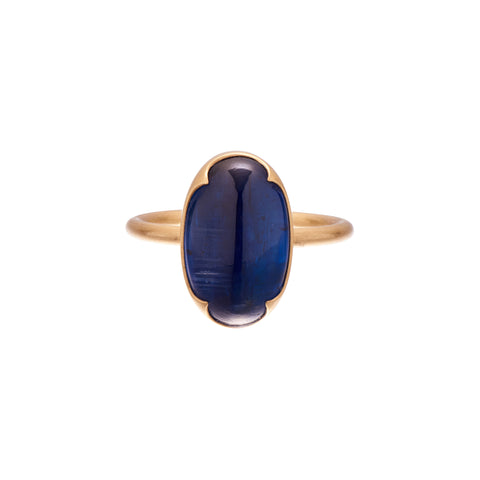Gabriella Kiss 18k Large Kyanite Ring