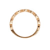 Gillian Conroy 14k Gold Zoe Marquise Diamond Half Hoop Band