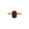 Gabriella Kiss 18k Dark Grey & Rust Toned Flat Diamond Ring - .82k
