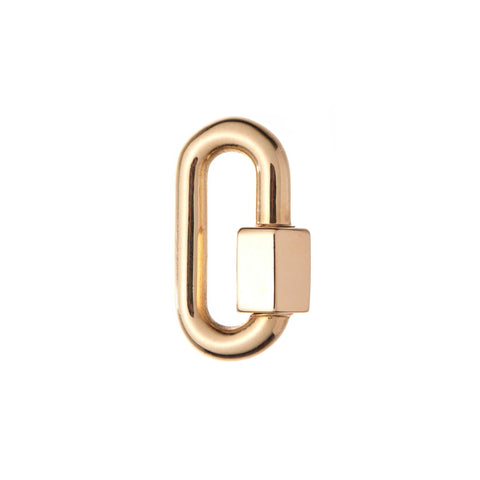 Marla Aaron 14k Yellow Gold Medium Chubby Lock