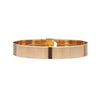 Kathleen Whitaker 14k Flat Catch Bangle Bracelet