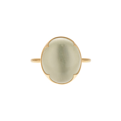 Gabriella Kiss 18k Oval Ceylon Moonstone Ring