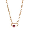 Marla Aaron 14k Gold Pulley Chain - 15""