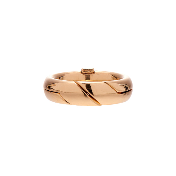 Marla Aaron Medium Di Me Ring in 14k Yellow Gold