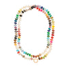 Harwell Godfrey 18k and Mixed Gem Rainbow Foundation Necklace - 32""