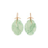 Gabriella Kiss 18/14k Scalloped Serpentine Earrings