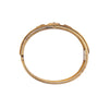 Antique Etruscan Revival14k Gold Bangle w/Embellishment