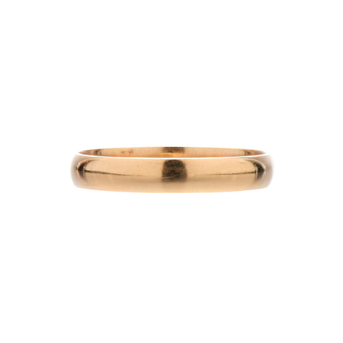 Vintage 14k Yellow Gold Heavy Band - 5mm
