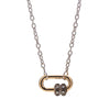 Marla Aaron 14k White Gold Pulley Chain - 17""