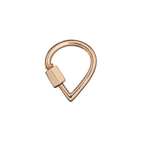 Marla Aaron 14k Yellow Gold Baby Drop Lock