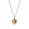 Antique 14k Witches Heart Charm