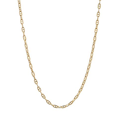 Stephanie Windsor 14k Gold Baby Mariner Chain