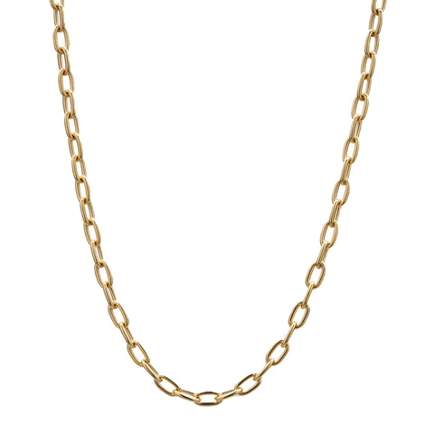 Stephanie Windsor 14k 80mm Oval Chain