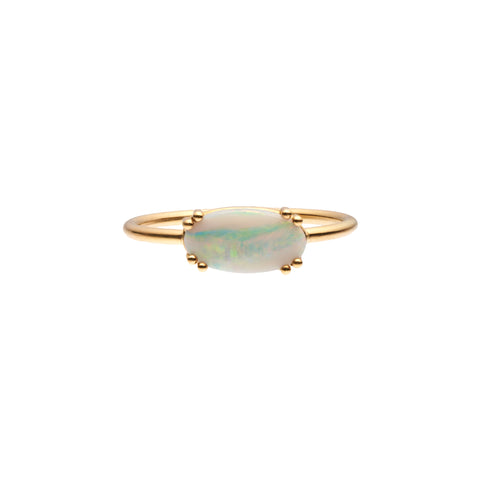 Tura Sugden 18k Gold and Opal Ring