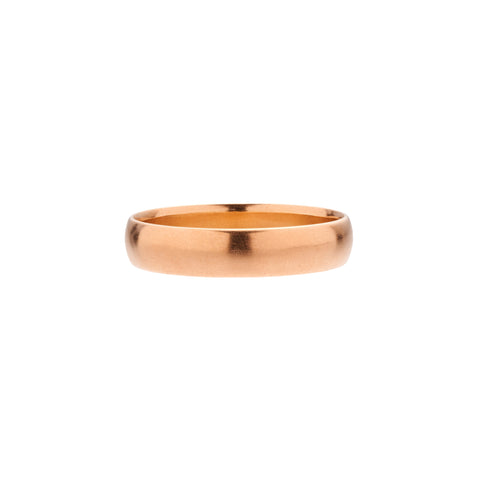 Tura Sugden 18k Rose Gold Cloak Band - 4mm