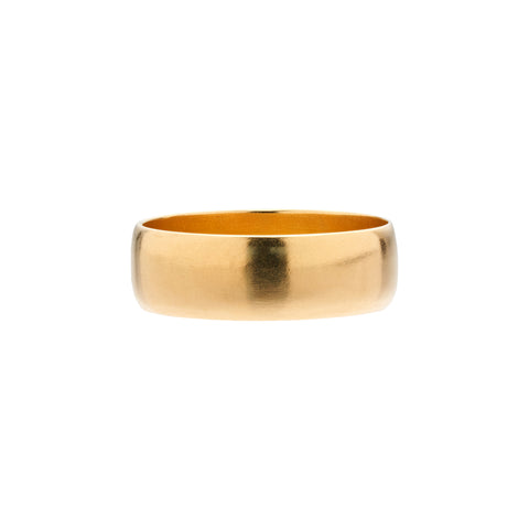 Tura Sugden 18k Yellow Gold Cloak Band - 6mm