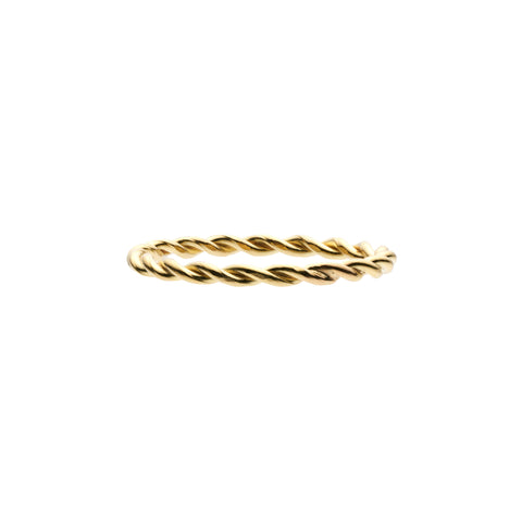 Tura Sugden 18k Gold Thread Band Ring
