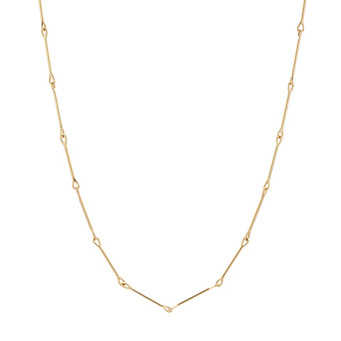Tura Sugden 18k Needle Eye Chain Necklace - Medium Weight