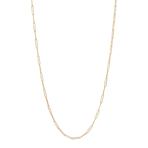 Tura Sugden 18k Gold Silk Link Chain Necklace