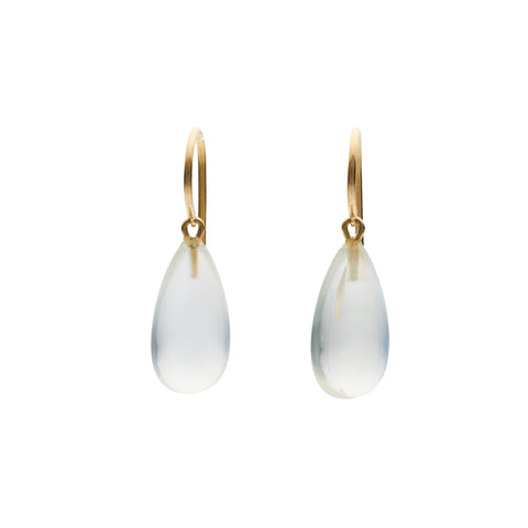 Tura Sugden 18k Moonstone Drop Earrings