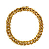 Antique Belle Époque 18k French Curbed Link Bracelet