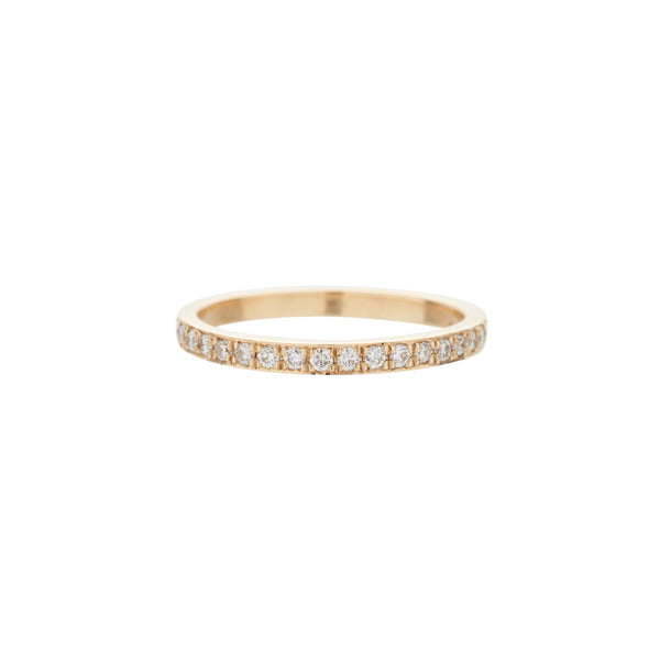 "Gillian Conroy 14k ""I Am Love"" Eternity Diamond Band"