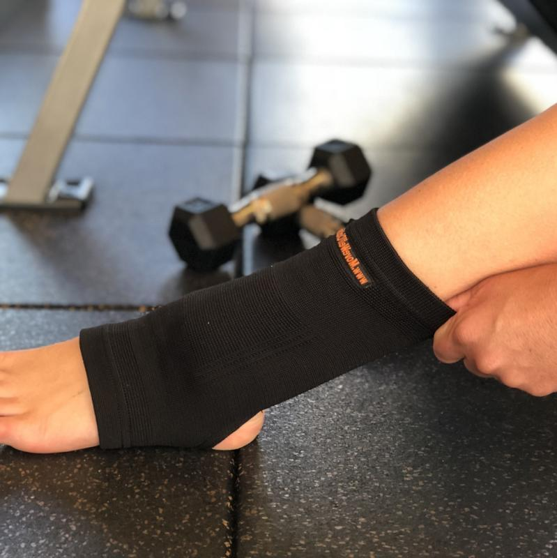 Move Well Clothing Far Infrared Ankle Support to reduce pain and inflammation
