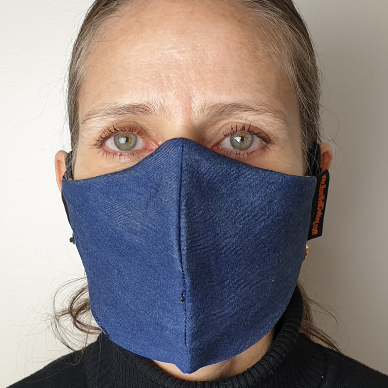 Move Well Clothing 2 Layer Cotton Face Masks