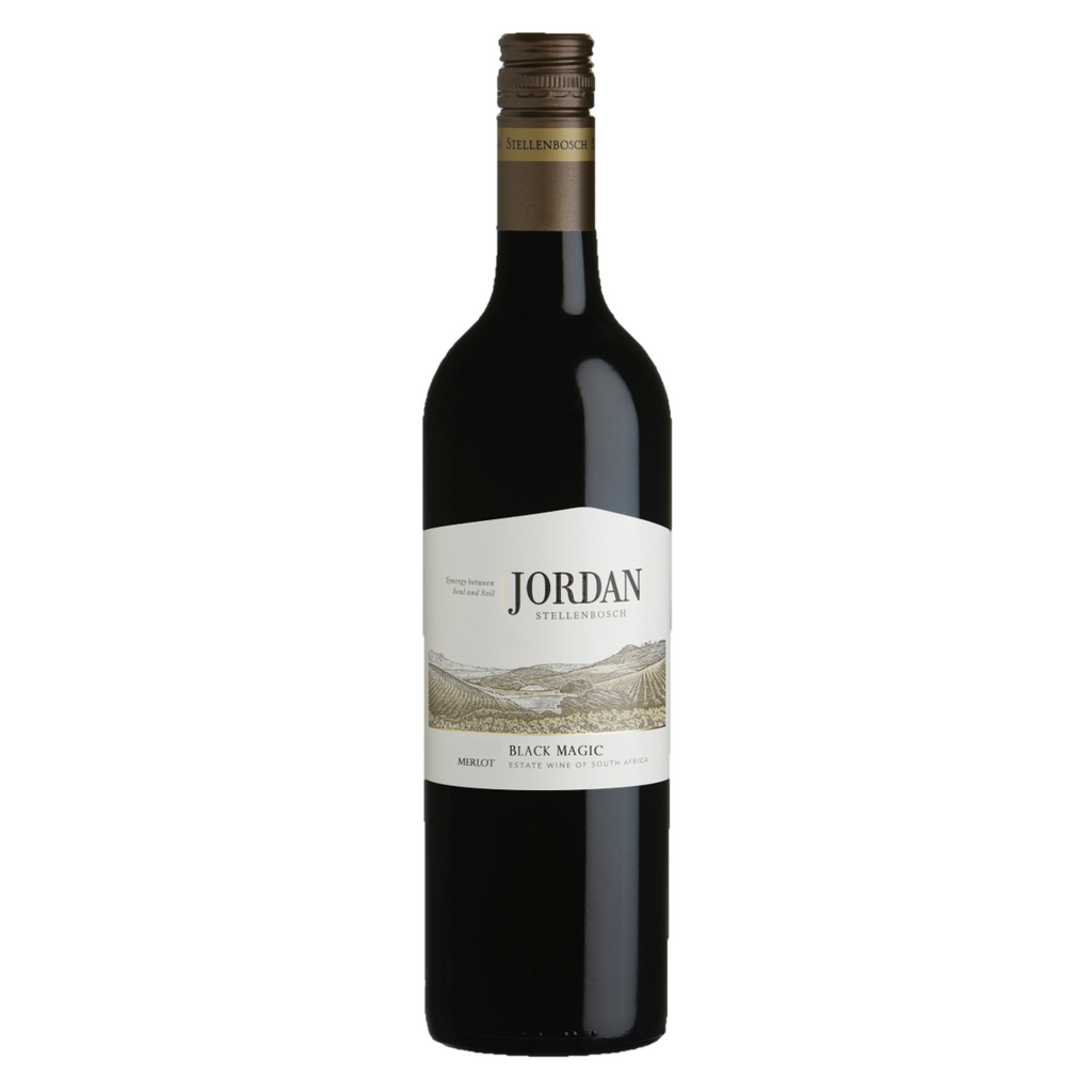 Jordan Black Magic Merlot botella de 750 ml - Tierra Fría
