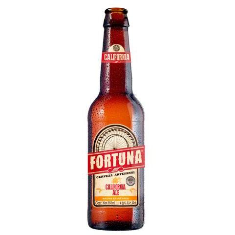 Fortuna California Ale botella de 355 ml - Tierra Fría