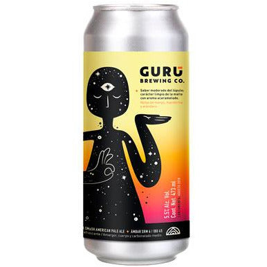 Gurú Brewing Co. Smash American Pale Ale lata de 473 ml - Tierra Fría