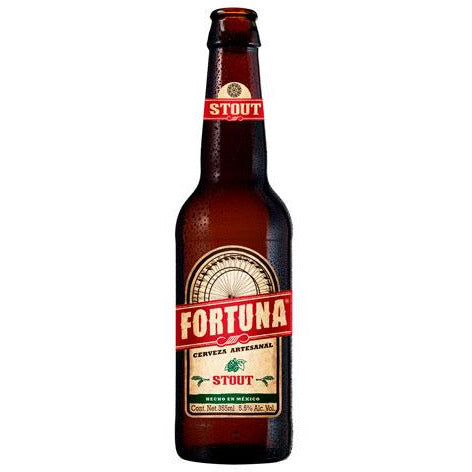 Fortuna Oat Stout botella de 355 ml - Tierra Fría