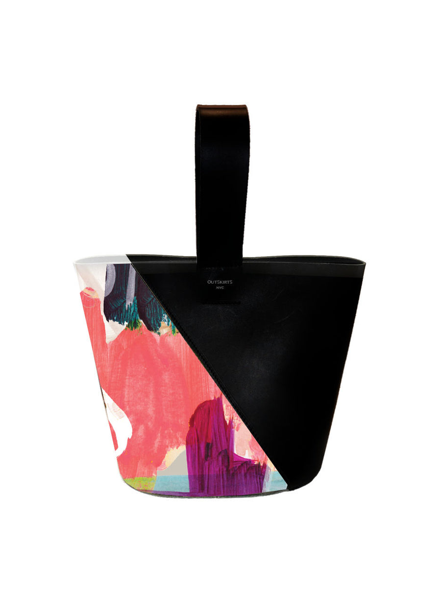Graffiti Bucket Bag