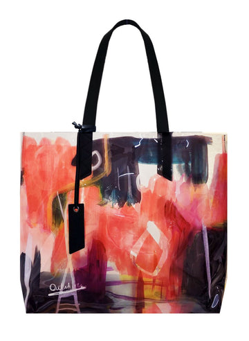 Graffiti Large Tote