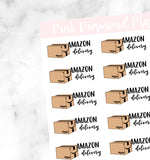 Amazon Delivery // Hand-Drawn Doodle Deco Sheets