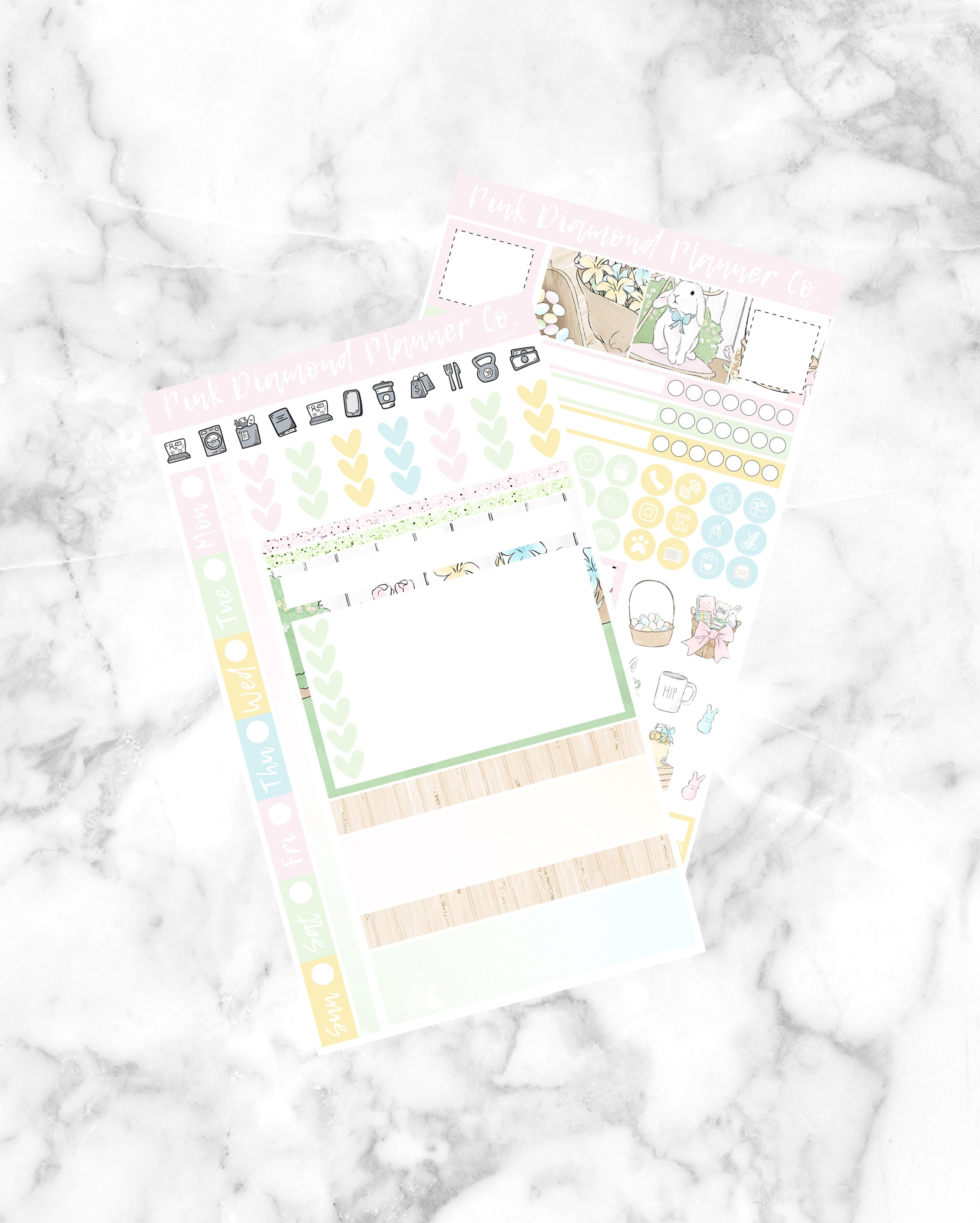 Egg Hunt // Hobonichi Kit