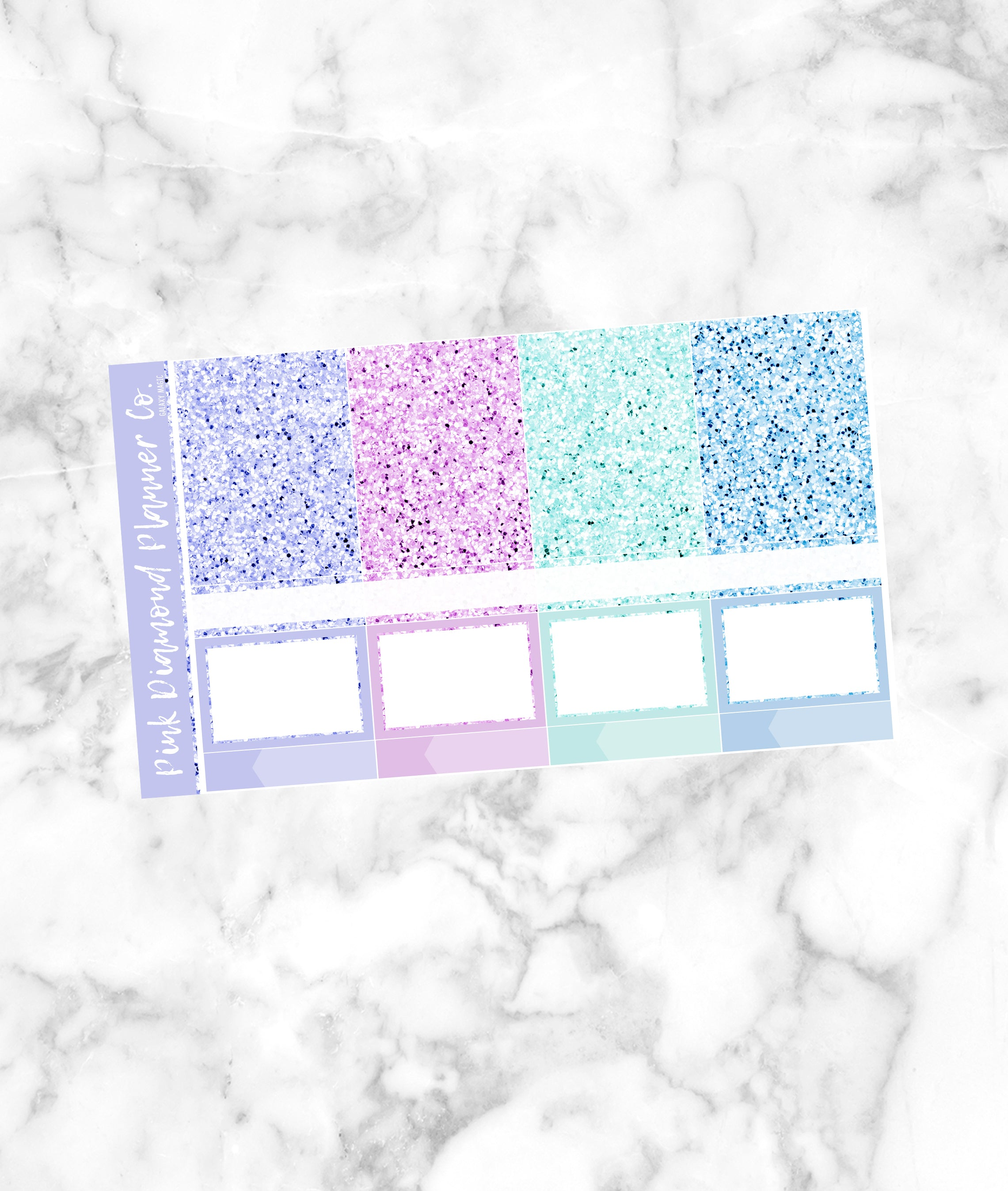 Galaxy Magic // Glitter Header Sampler