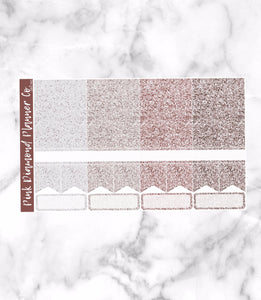 Simply Paris // Glitter Header Sampler