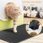 Waterproof Litter-Catching Mat For Cat