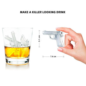 Gun or Grenade Ice Cube Maker