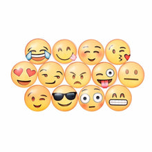 Load image into Gallery viewer, 13pcs Emoji Face Refrigerator Magnets