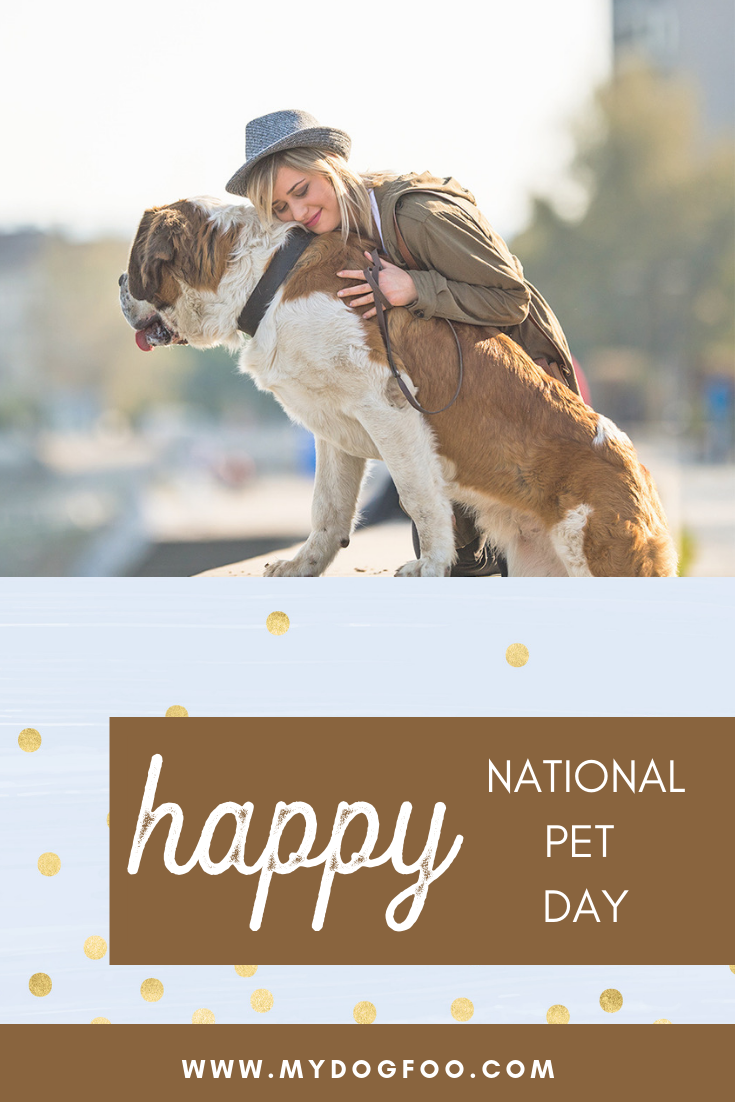Happy National Pet Day | Save 20% Today