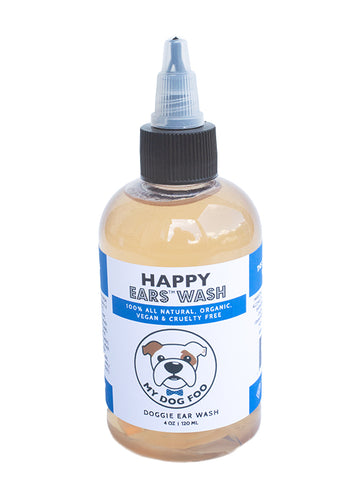 HAPPY EARS - DOGGIE EAR CLEANSER - ALL NATURAL EAR WASH