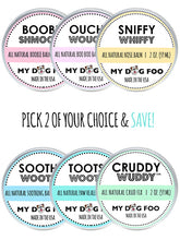 PICK TWO | FULL SIZE HEALING DOG BALMS